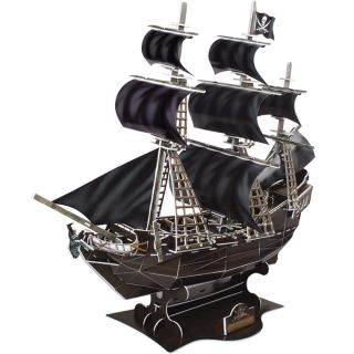 3D Puzzle 155 Teile 48cm Piratenschiff Queen Annes Revenge Piratenboot