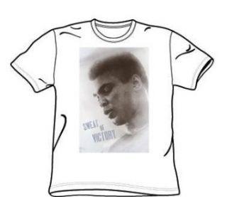 Muhammad Ali     Schweiß der Victory Adult T Shirt in Weiß