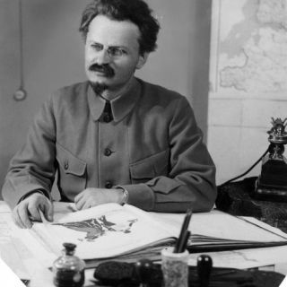 Leon Trotsky (1879 1940) Photographic Print