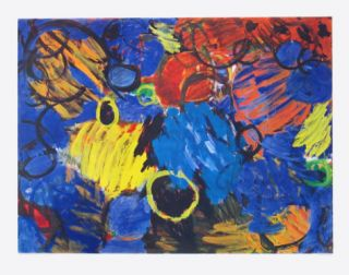 Motion Collectable Print by Ernst  Wilhelm Nay