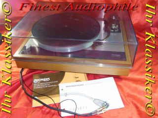 THORENS TD160 B BELT DRIVE & SME 3009 SERIES IIIs für Vinyl 33 45rpm