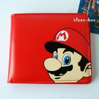 Super Mario Bros Brieftasche Geldbörse Nintendo Rot