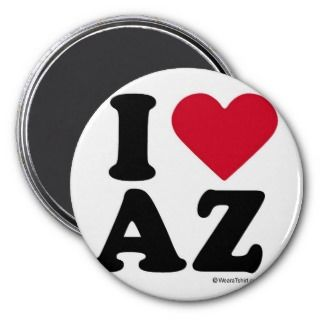 ARIZONA  I LOVE AZ   I LOVE ARIZONA REFRIGERATOR MAGNETS