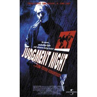 Judgment Night   Zum Töten verurteilt [VHS] Emilio Estevez, Cuba