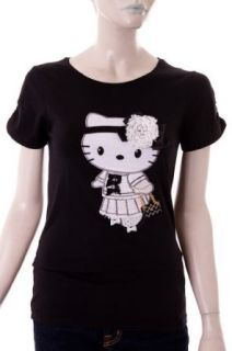 Hello Kitty by Victoria Casal Couture Shirt schwarz, Gr.34/XS