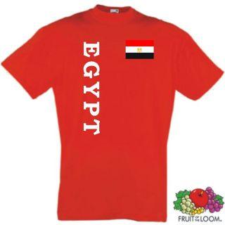 ÄGYPTEN EGYPT KINDER T SHIRT IM TRIKOT LOOK 104 164 /3