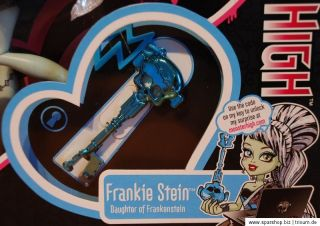 MONSTER HIGH Sweet 1600 Frankie Stein W9190