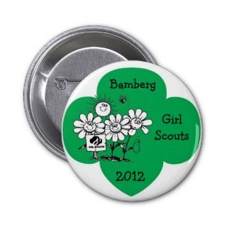 Bamberg Girl Scouts 2012 Pins