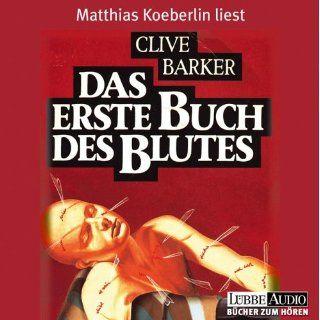 Das erste Buch des Blutes. 3 CDs Clive Barker, Matthias