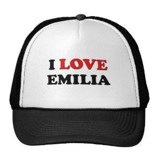 Love Emilia Hats