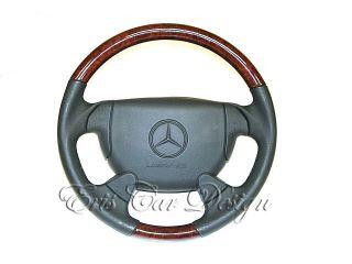 Airbaglenkrad Lenkrad Mercedes SLK R170 CLK W208 SL R129 Wurzelholz
