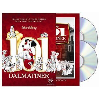 101 Dalmatiner Collectors Edition mit Buch, 2 DVDs Special Edition