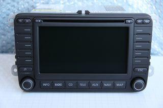 SKODA VW SAT NAV MFD2 MFD 2 CD RADIO NAVIGATION SYSTEM Navi GPS DX RNS