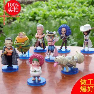 MANGA One Piece 2 JAHRE MINI Q 8 Figuren Figure Hca,8 cm 177