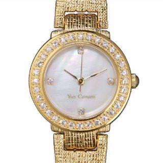 Yves Camani Damenuhr Isabelle Sapphire Gold White Y106DMGP 070