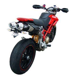 Zard Slip On 2 2 Top Gun für Ducati Hypermotard 796 mit EG ABE