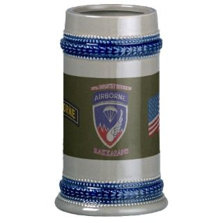 187th Infantry Division Rakkasan Stein Mugs