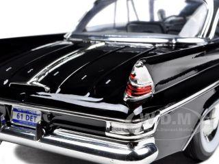 1961 DESOTO ADVENTURER BLACK 1/18 DIECAST MODEL CAR