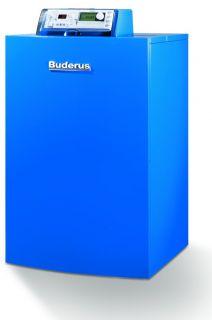 Buderus GB202 Gas Brennwert Kessel + Solaranlage 10 qm Solar H / steh