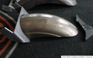 Harley Heckumbau  190mm Softail Heck Fender Kit Schutzblech SHORT