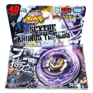Beyblade Metal Fury 4D BB 113 Scythe Kronos T125EDS: