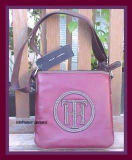 Tommy Hilfiger Logo Messenger Handtasche 2012 Kollektion grosses Logo