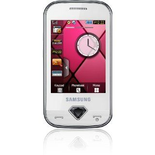 Samsung Glamour S7070 Smartphone (Touchscreen, 3,2MP Kamera, Social