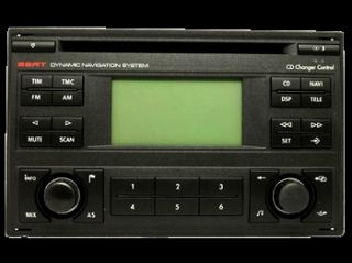 Navigation Blaupunkt SEAT Alhambra RNS4 7M7 035 191 C, 7612 001 504