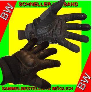 TACTICAL Security Polizei Kampfhandschuhe Einsatzhandschuhe in schwarz