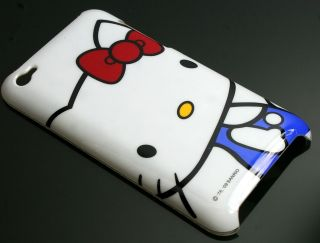 iPod touch 4G Hülle Tasche Hard Cover Case Hello Kitty