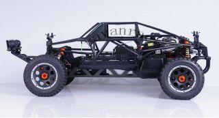 BLACK Lightweight HD nylon Überrollkäfig Roll Cage fit 1/5 baja hpi