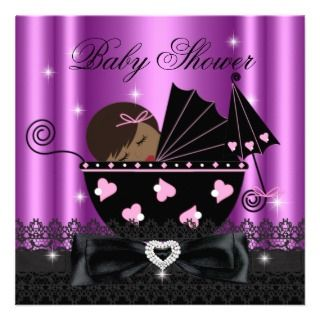 Invitations, 400+ African American Baby Shower Announcements & Invites