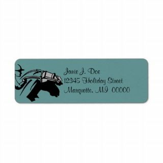 Sport Horse Racing & Jockey Return address Labels