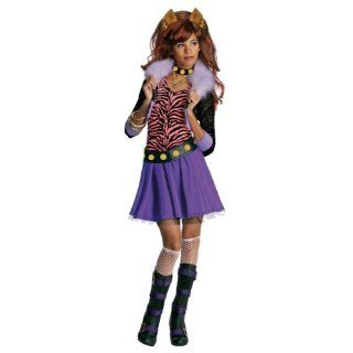 Monster High Abbey Bominable Halloween Costume   Child Size