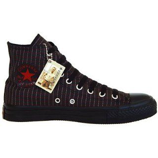 Converse All Star schwarze Chucks Schwarz Black Chili Pepper White