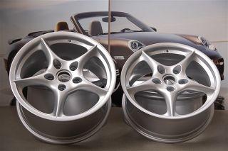 TOP & ORIG. Porsche 911 996 Facelift 18 Zoll CARRERA Felgen Satz 8J