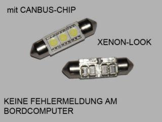 SMD LED Kennzeichenbeleuchtung Fiat Stilo (192)