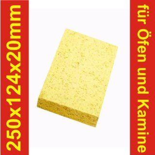 Schamotte Schamotteplatten Schamottstein Schamott 250x124x20mm