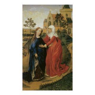 Great Poster with the life of Jesus depicted in Rogier Van Der Weyden