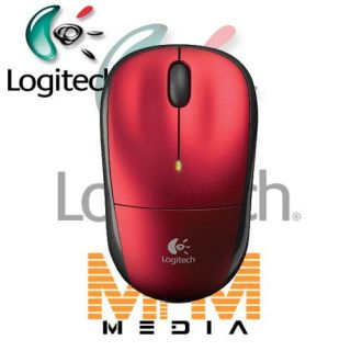 Logitech M215 M 215 Wireless optisch optical Maus Mouse kabellos Rot