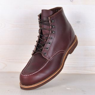 Red Wing 213 Biker Worker Boos Arbeier Siefel 6 Oxblood Red Wings