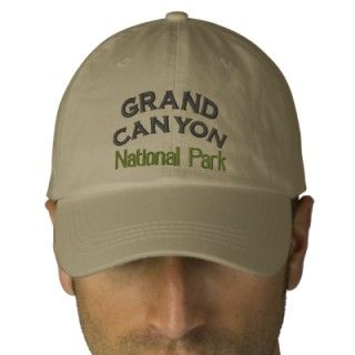 Grand Canyon National Park Embroidered Baseball Caps
