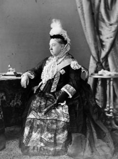 Queen Victoria, 1887 Photographic Print