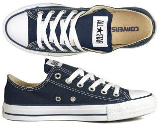 Converse Chucks All Star OX navy blau alle Größen
