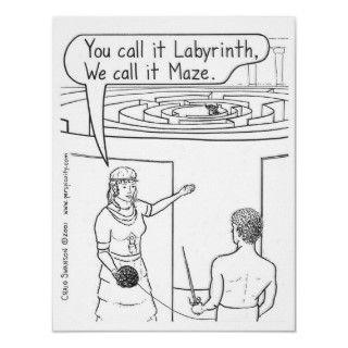 margarine corn maize Promise William Shatner labyrinth minotaur