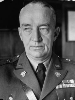 Superintendent Major General Robert L. Eichelberger of the Us Military Academy at West Point Premium Photographic Print by Alfred Eisenstaedt