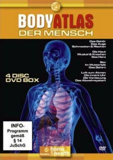 BODY ATLAS   DER MENSCH (4 DVD SET / DISCOVERY CHANNEL)