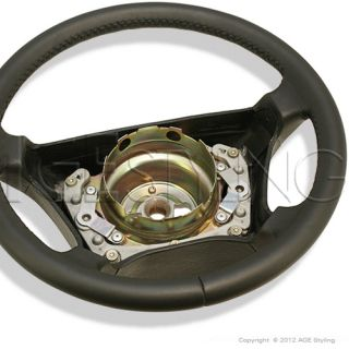 Mercedes Benz W140 W210 W202 Leather Steering Wheel *NEW*