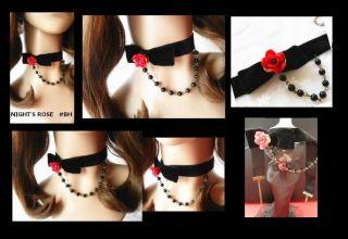 Gothic Lolita Halsband Spitze Halskette necklace Halsschmuck Choker