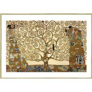 Bild mit Rahmen Gustav Klimt, Lebensbaum, 100 x 70   Aluminium